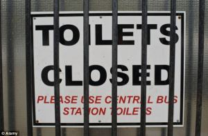 Toilet closures